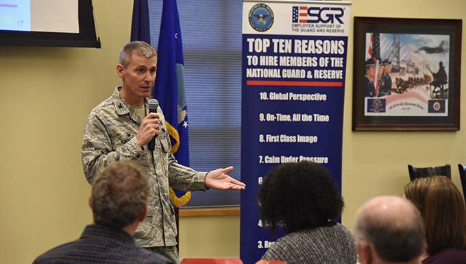 119th Wing Says thanks to employers